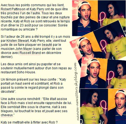 News du 27/08/2012 Bilan