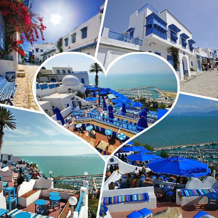 Among the most beautiful places in Tunisia: Sidi Bou Said