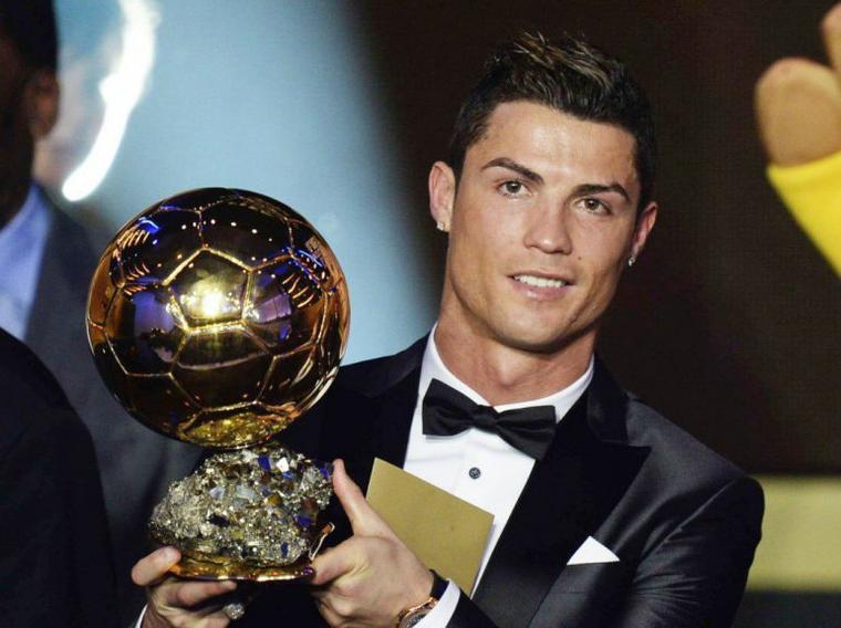 Cristiano Ronaldo Ballon d'or 2014