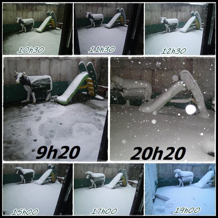 neige  chez moi