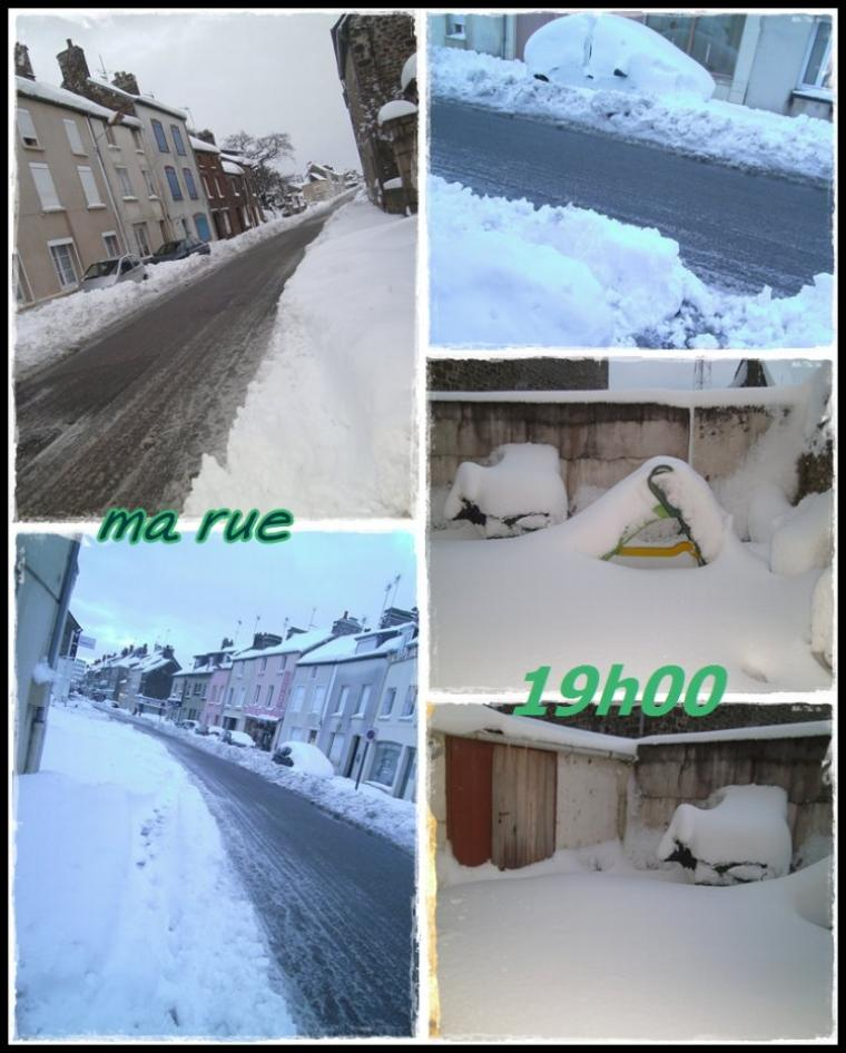 mardi 13 mars... neige bis