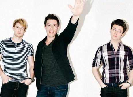 Photoshoot By Steven Taylor du Glee cast