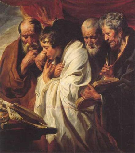 L'écriture des Evangiles