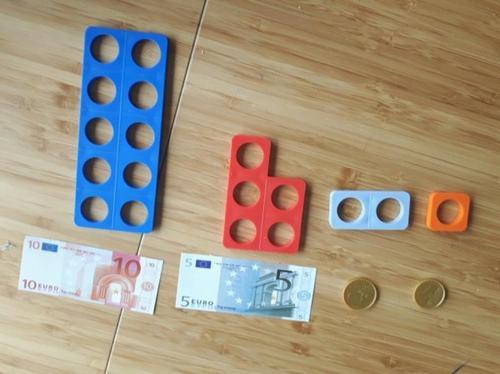 La monnaie avec Numicon