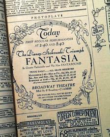 Anniversaire de sortie : Fantasia
