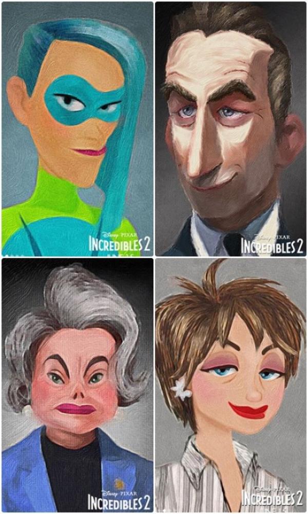 Les Indestructibles 2 : nouveaux visuels et nouveaux personnages !