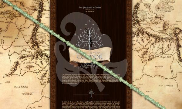 Habillage 49 - Les Parchemins du Gondor