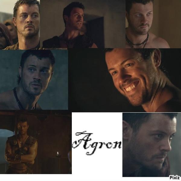 La biographie de Agron
