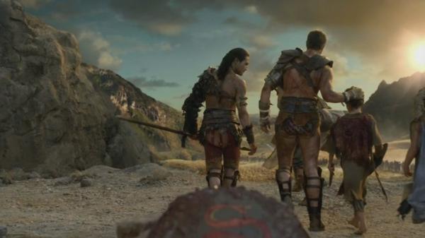 Chapitre 1 Agron et Nasir leur voyage apres avoir enterer Spartacus