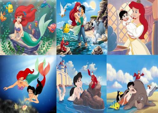La Petite Sirène  ~ Walt Disney