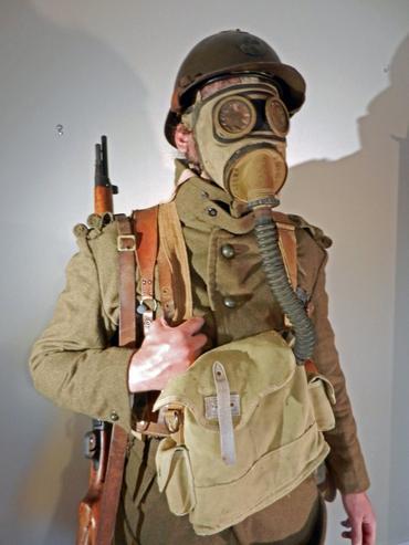 Fusilier voltigeur - Infanterie française - Ardennes 1940
