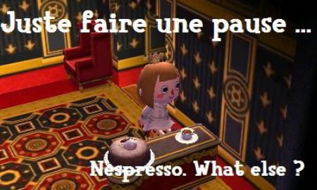 Juste un café.