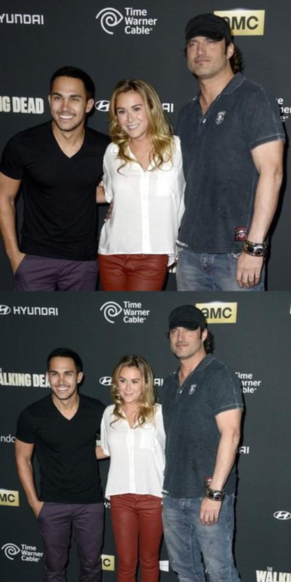 AT THE PREMIERE OF AMC's 'THE WALKING DEAD' 4th SEASON 10/03/13