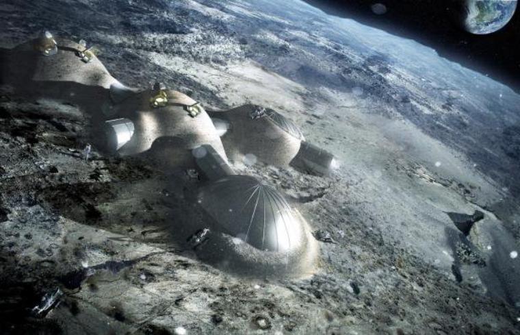 Base lunaire ou l'impasse de l'avenir spatial