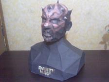 Bust de Darth Maul... (100% en papier 90gr.)