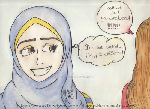 Entre Lbar7 é Lyoum ...  je dit : hamdulilah 3ala ni3mat lhijab ! :)