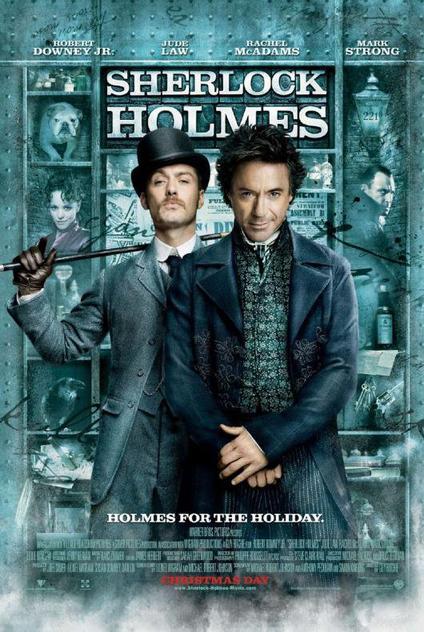 Sherlock Holmes - Robert Downey Jr., Jude Law, Mark Strong, Rachel McAdams