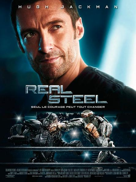 Real steel - Hugh Jackman, Dakota Goyo, Evangeline Lilly