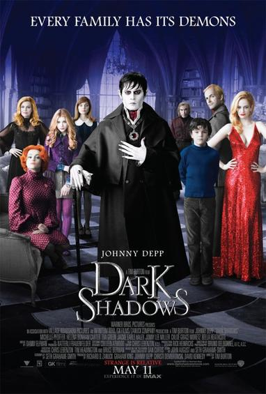 Dark Shadows - Johnny Depp, Michelle Pfeiffer, Helena Bonham Carter