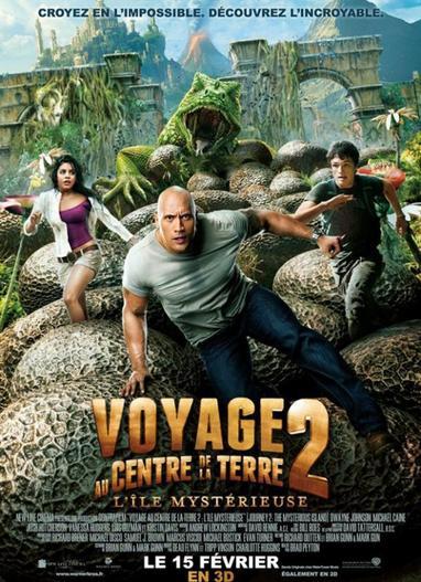 Voyage au centre de la Terre 2 : L'Ile mystérieuse - Dwayne Johnson, Michael Caine, Josh Hutcherson et Vanessa Hudgens