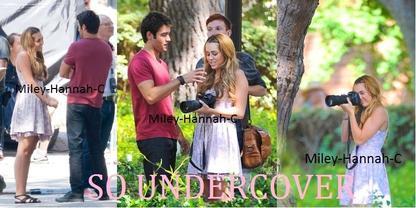 So undercover.