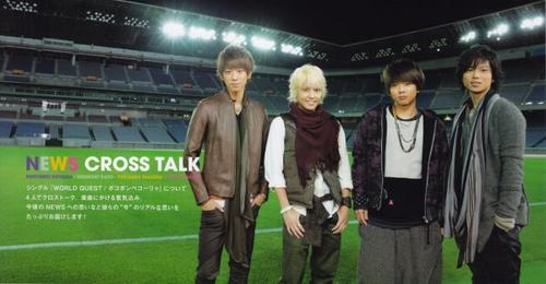 NEWS Fan Club revue n°3 ~hiver 2012~ cross talk