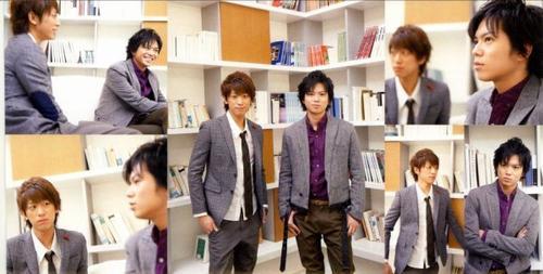NEWS Fan Club revue n°4 ~printemps 2013~ Koyashige cross talk