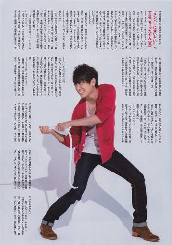 Myojo Juin 2015 ~ Longue interview de 10000 caractères - Koyama Keiichirô~