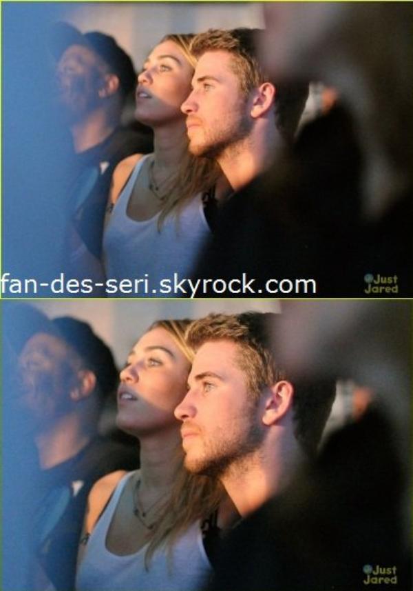 Miley et Liam se sont rendus le 16 novembre 2011 à la soirée de lancement de Google Music sponsorisée par T-Mobile au Mr. Brainwash Studio. Ils ont assisté à une performance de Drake