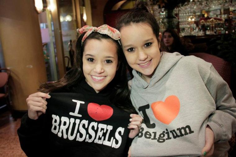 Megan à Bruxelles,Belgique