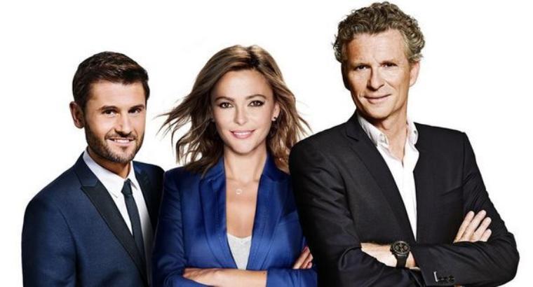 #NEWS: Denis Brogniart, Christophe Beaugrand & Sandrine Quétier à la présentation