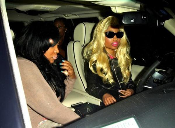 Quand Nicki Minaj sort dîner avec ses amis, ça donne ça!