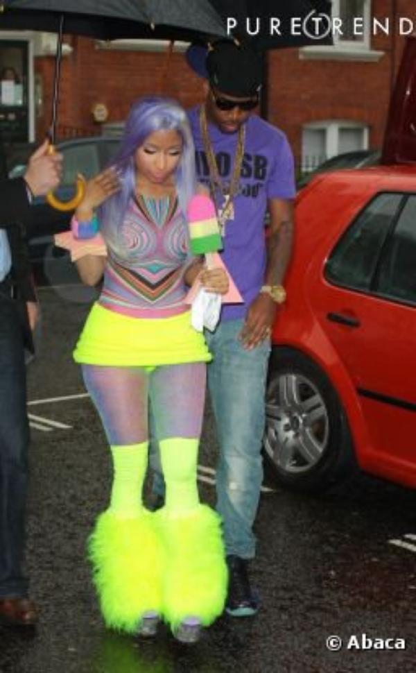 Nicki Minaj, sa poitrine nous hypnotise