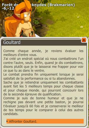 Début du Goultarminator III