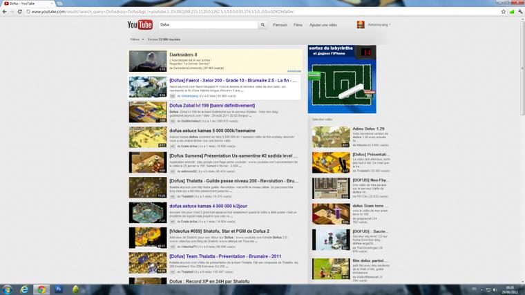 Dernier article, dernière vidéo, dernier jour de l'année 2011