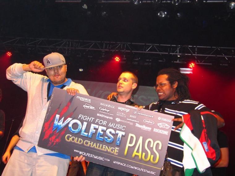 Qualification en poche pour la finale du WOLFEST
