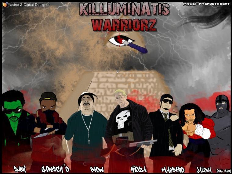 L.C.C feat Stow & La Pagaille - KILLUMINATIS WARRIORZ