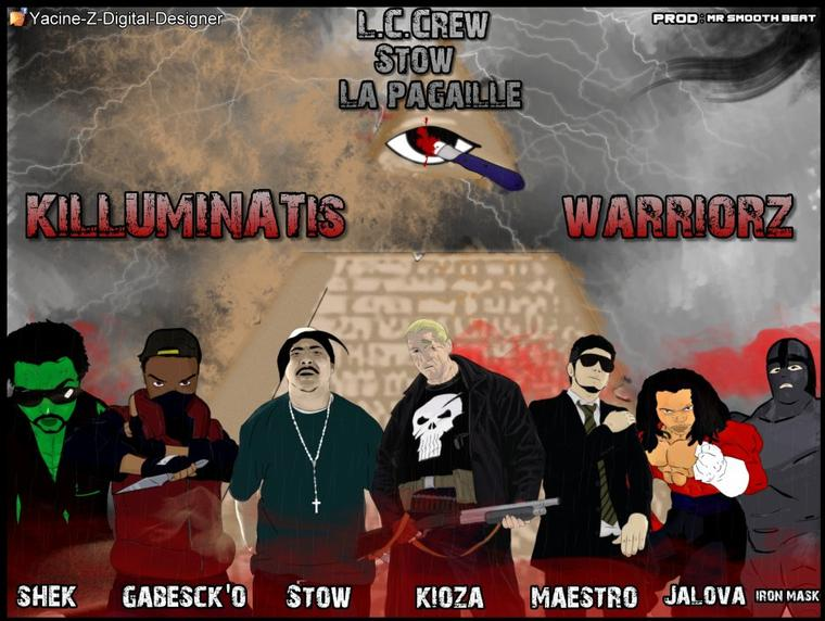 Mixtape L.C.C  / L.C.C feat Stow (ELDC), La Pagaille - Killuminatis Warriorz (2013)