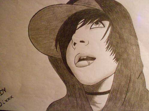 Un de mes dessins : Andy Sixxx