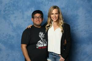 Julie Benz à la série buffy
