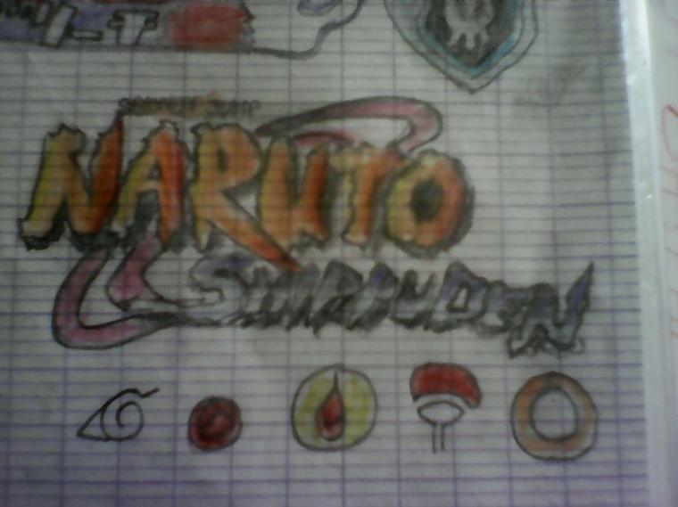 Le logo Naruto shippuden