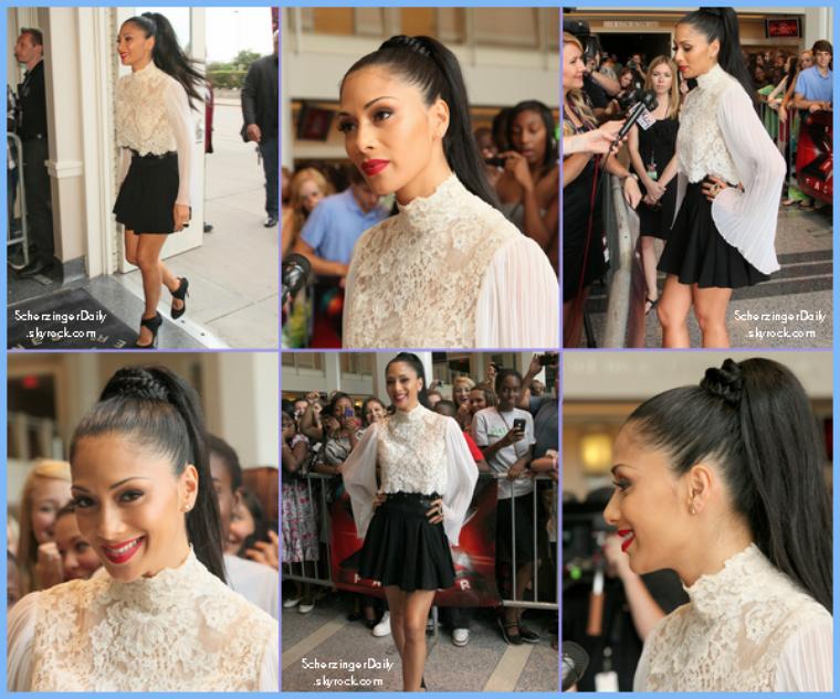 -- Mardi 21 Juin 2011 : Nicole à Dallas pour les auditions de X-Factor --