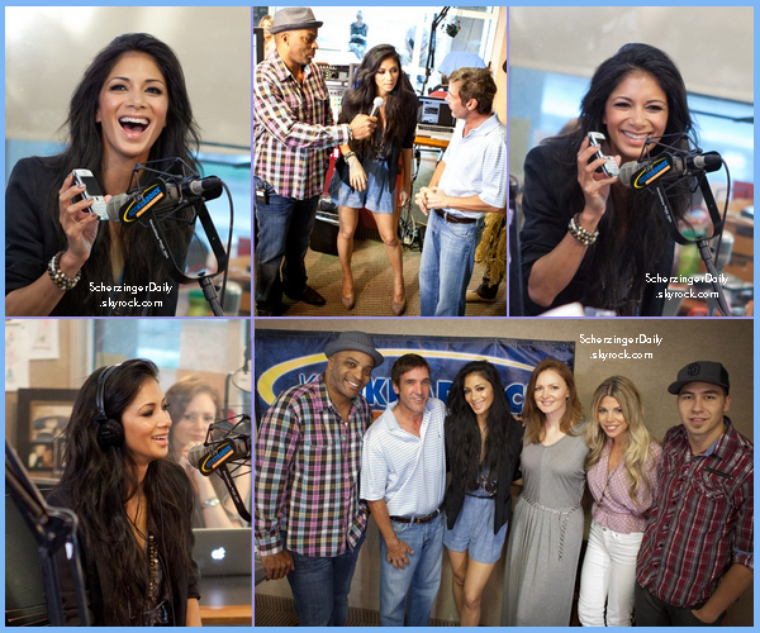 -- Jeudi 23 Juin 2011 : Nicole à Dallas fait le tour de plusieurs radios --