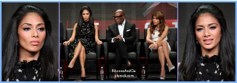 -- Vendredi 05 Août 2011 : Nicole assiste au Summer TCA Tour avec L.A. Reid, Paula Abdul & Steven Jones.. --