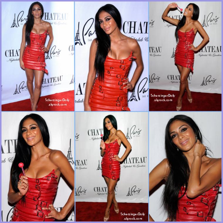 -- Vendredi 02 Septembre 2011 : Nicole était présente nightclub Chateau à  Las Vegas.. --