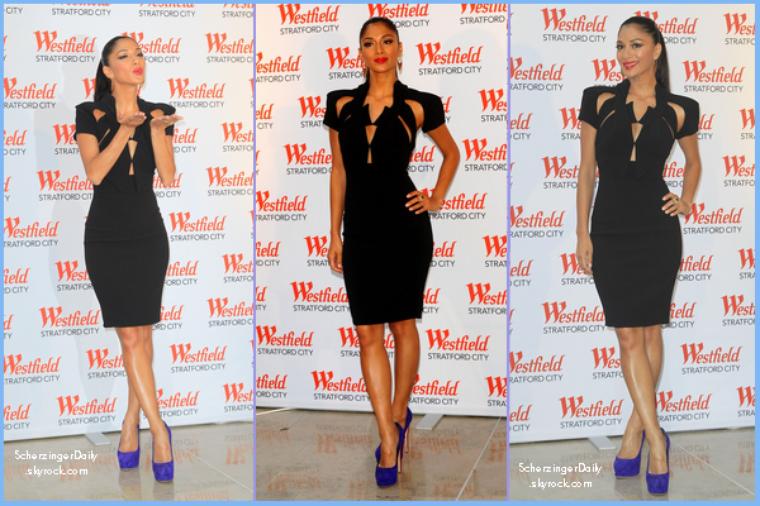 -- Mardi 13 Septembre 2011 : Nicole était présente à l'ouverture du Westfield Stratford City à Londres.. --