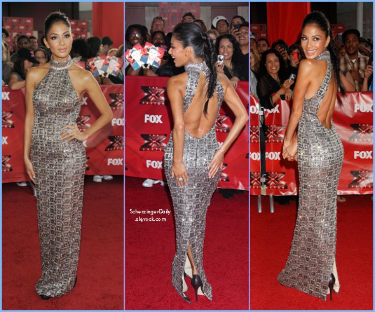 -- Mercredi 14 Septembre 2011 : Nicole était à la soirée organisée pour la première d'X-Factor USA.. --
