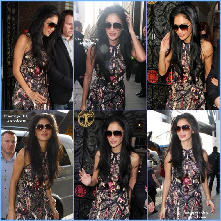 -- Vendredi 28 Octobre 2011 : Journée assez chargée pour la belle Nicole dans les rues Londoniennes.. --