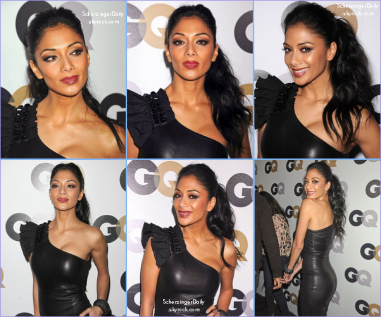 -- Jeudi 17 Novembre 2011 : Nicole était au GQ's 2011 'Men Of The Year' Party  --