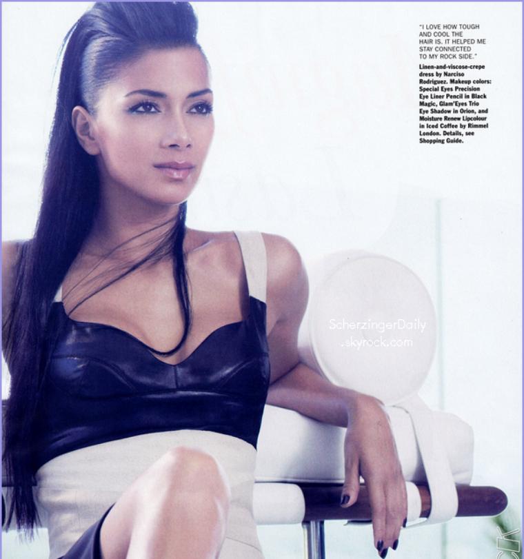 -- Nicole, plus belle que jamais pose pour le magazine Allure qui sortira en Janvier 2012.. --